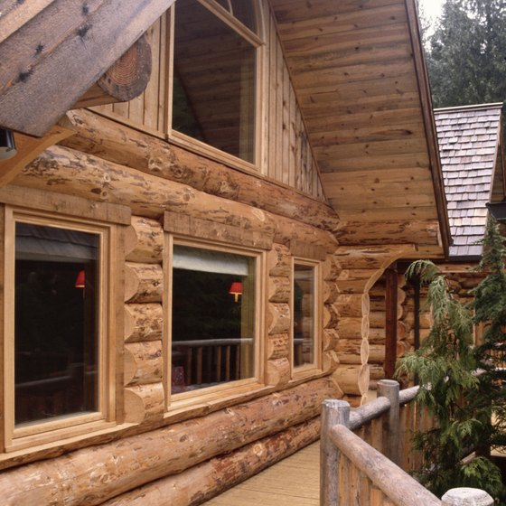 A log cabin can provide the perfect retreat from the city.