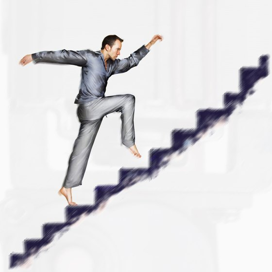 Include stair climbing in your exercise routine to strengthen your hips.