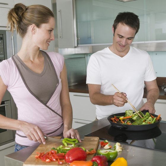 Healthy recipes are typically simple to prepare.
