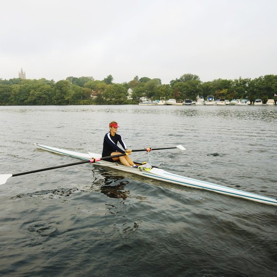 Rowing is generally considered a superior total-body workout to kayaking.