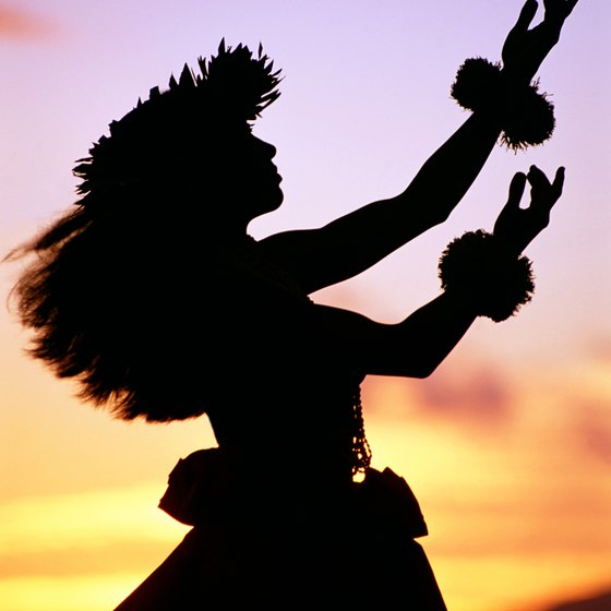 Hula arms tell a story through graceful movements.