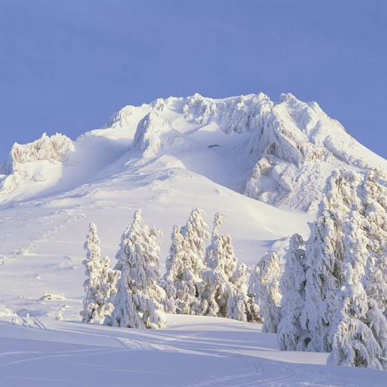 Mount Hood is home to several terrain parks.