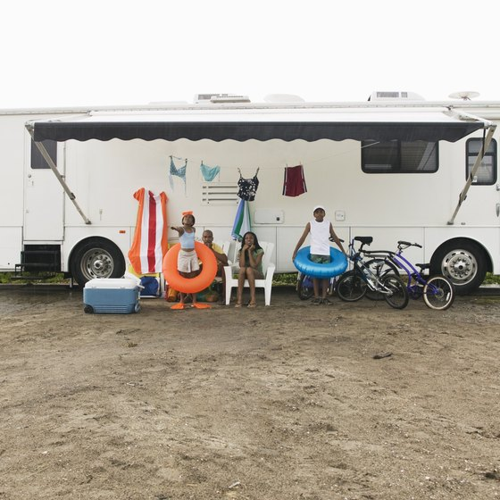 Long-term RV parks are available in southern Oregon.