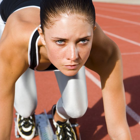 Sprinting is an anaerobic activity that requires a burst of energy that cannot be sustained for a long period of time.