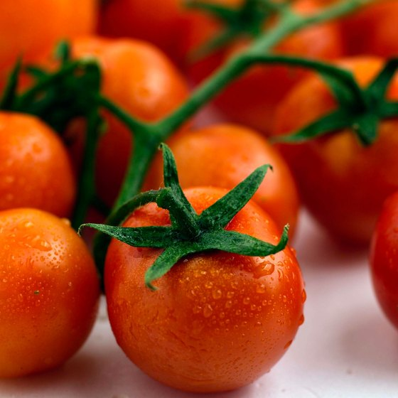 Cherry tomatoes are low in calories, making them a guilt-free snack.