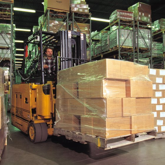 Warehouse clerks receive orders from vendors and ship orders to customers.