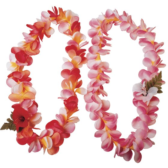 Hawaiian leis are a traditional symbol of Aloha.