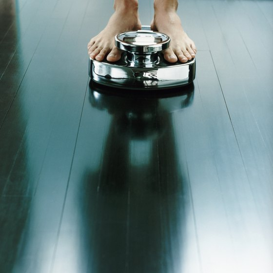 Weigh yourself before starting a weight-loss regimen.