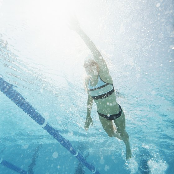 Swimming works all your major muscle groups and uses all of your limbs.