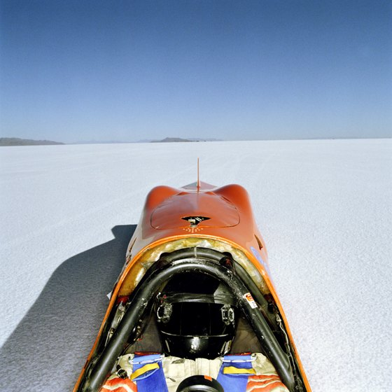 The Bonneville Salt Flats Speedway has been in use since the early 20th century.