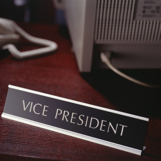 """Vice president"" is a title LLCs often use for high-level employees."