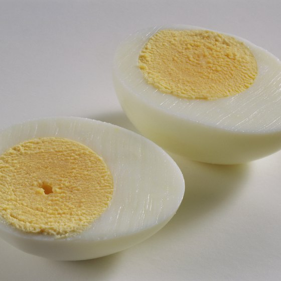 Eggs provide quality protein.