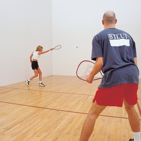 Racquetball offers a good fat-burning workout.