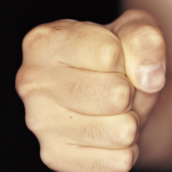 Fists may do a lot of damage, but they're more fragile than you might think.