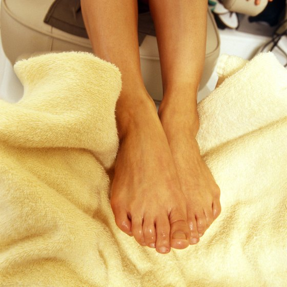 Transform a towel into a tool for working out your feet.