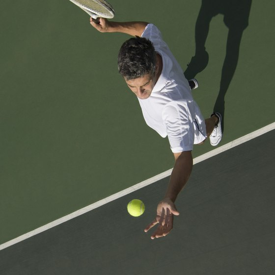 Tennis requires strength, stamina and agility.