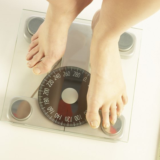 Body mass can't be determined solely with the scale.
