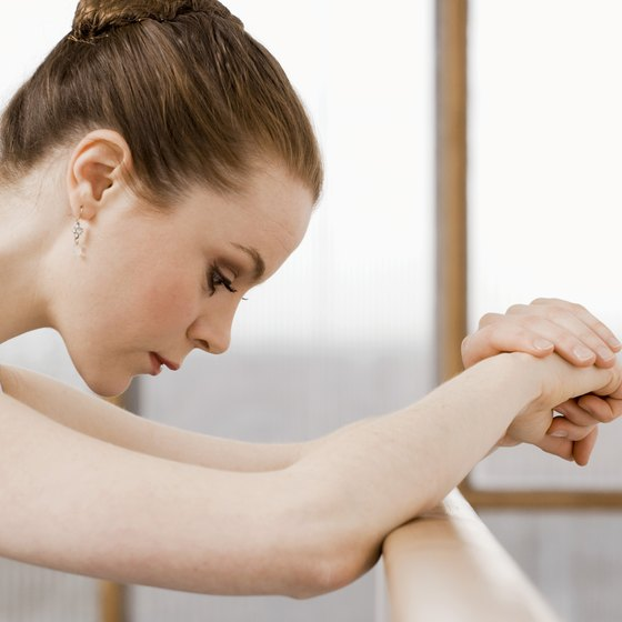 Barre workouts tone and strengthen.