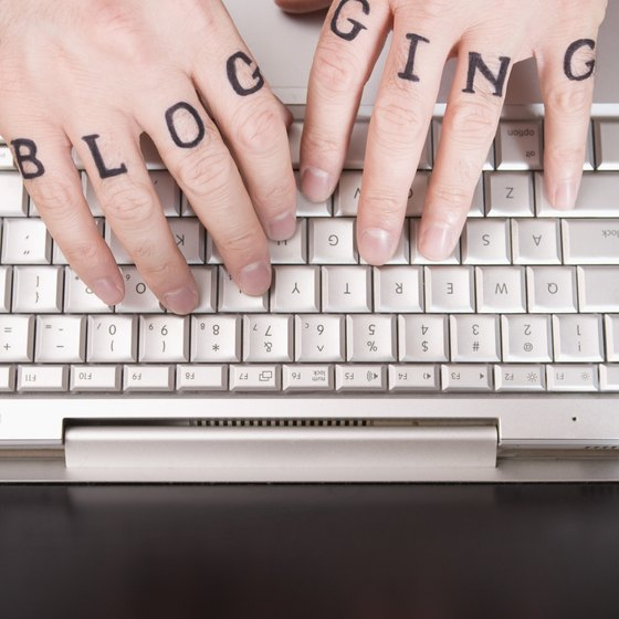 Blogs have a number of advantages for businesses.