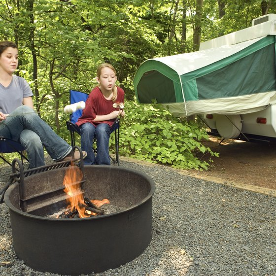 Traveling with a pop-up tent camper is a great way to see the country.