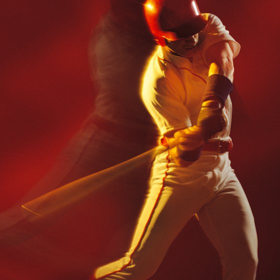 Bat speed comes from your legs, hips and core and not just your arms.