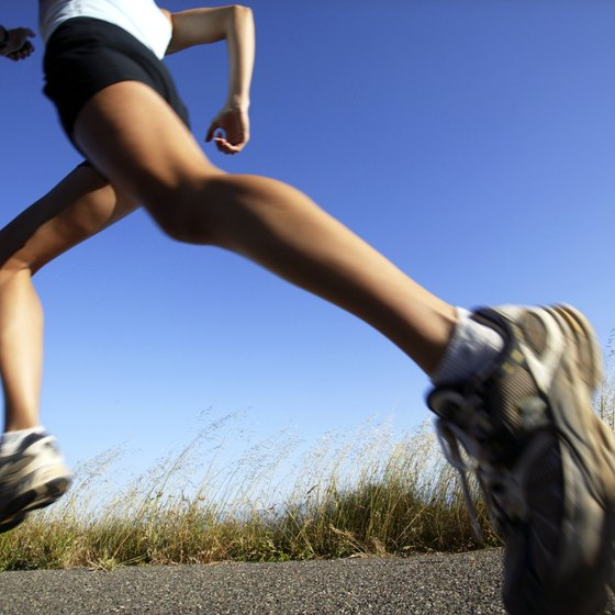 Jog your way to a healthy body.
