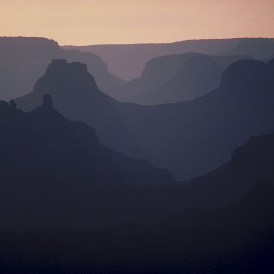 The Grand Canyon is the Colorado Plateau's defining landmark.
