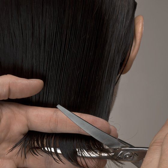 Cutting hair for a cause enhances a salon's image.