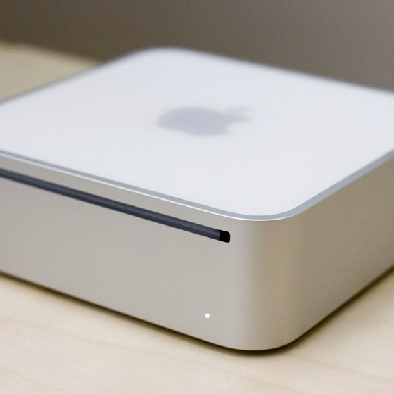 Mac Minis have a tiny footprint, but they offer several ports for peripherals.
