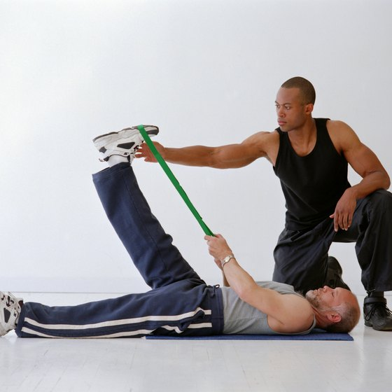 Resistance bands can be used to perform hundreds of exercises in almost any environment.