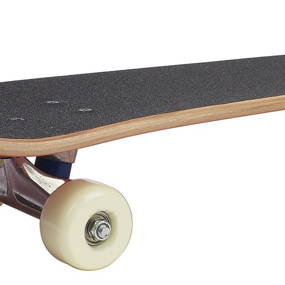 The grip tape should fit over the entire top of the skateboard.