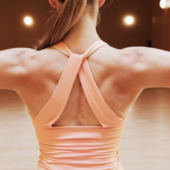 Build up your back to make your waist look slimmer.
