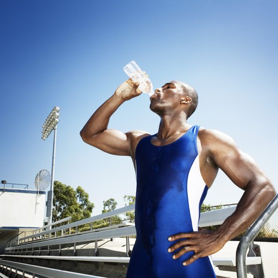 Stay hydrated before, during and after the event.