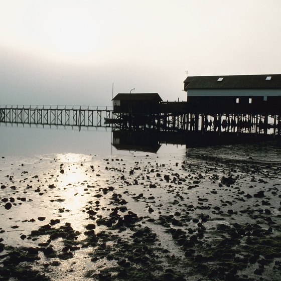 Dillon Beach Sits On The S Of Tomales Bay In San Francisco Area