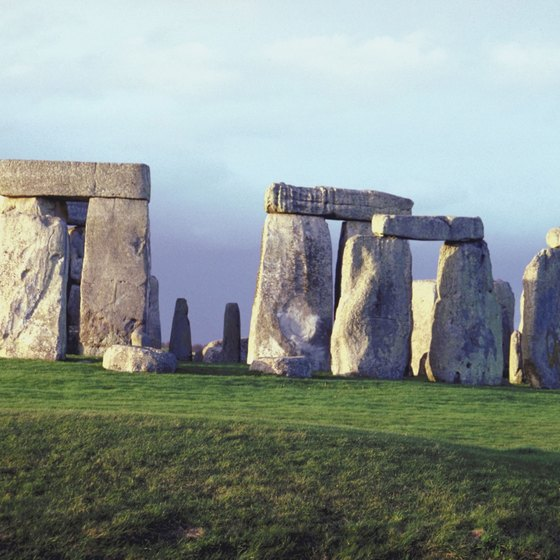 Stonehenge is one of the top 10 man-made wonders in Europe.