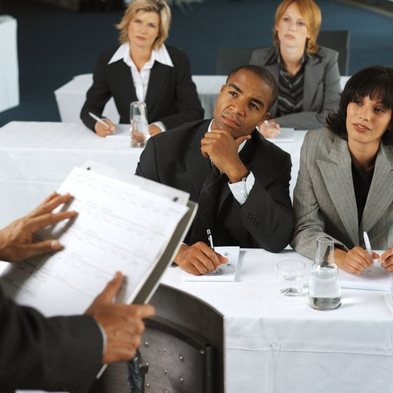 Compelling and useful topics will capture staff attention at weekly meetings.