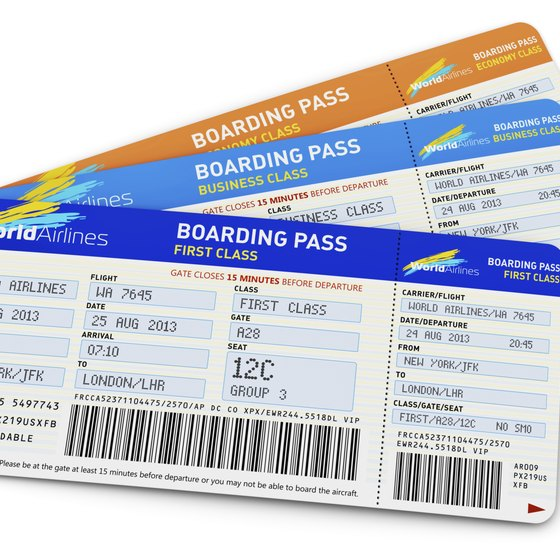 E-tickets have replaced paper tickets, but paper boarding passes still are common.