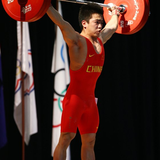 Olympic lifts, such as the snatch, train triple extension.