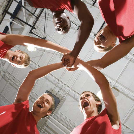 Develop a team mentality by establishing group goals.