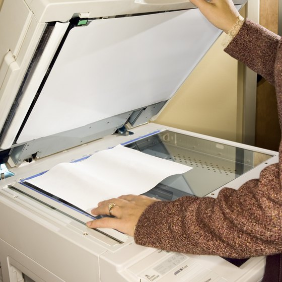 Use a Xerox WorkCentre copier-printer to input documents to your network.