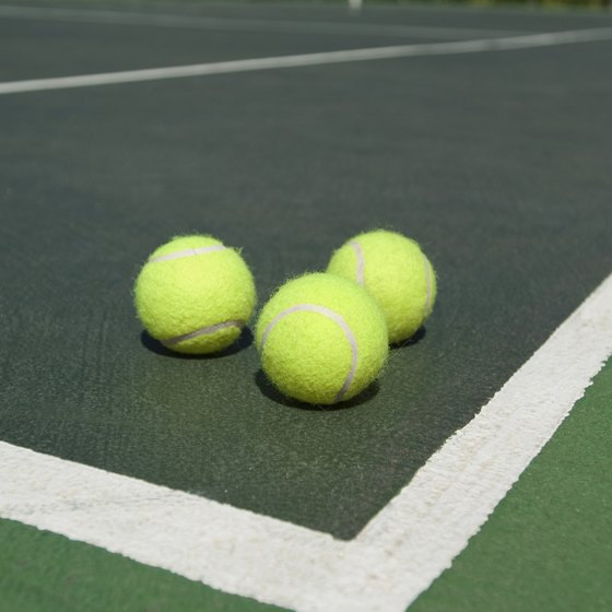 You can use tennis balls are an inexpensive way to exercise.