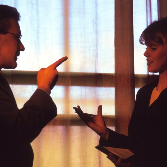 Differing perspectives can sometimes cause conflicts between a line-and-staff management team.