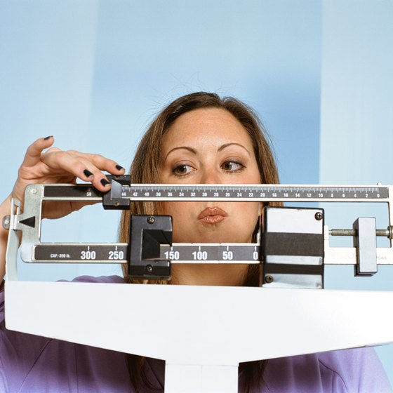 Weigh yourself at the same time each day for the most accurate measurement.
