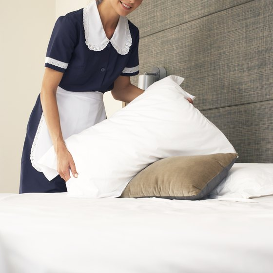 Maid services and other small businesses can lower the cost of providing services by creating economies of scale.