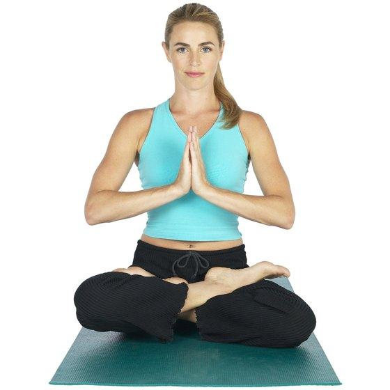 Namaste, or Prayer Mudra, helps to strengthen weak wrist muscles.