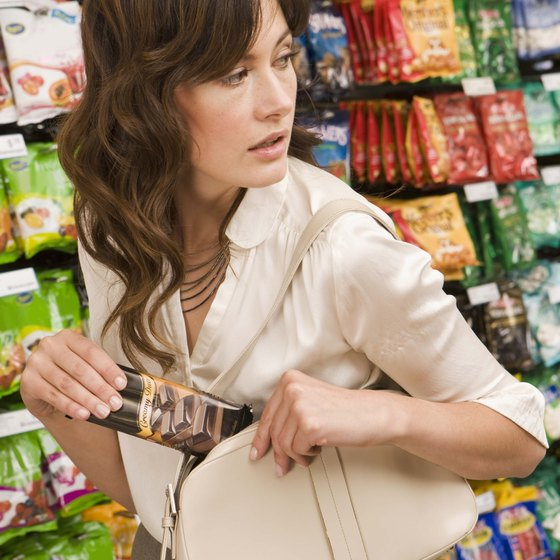 The amount of inventory lost to shoplifters has increased steadily over the past two decades.