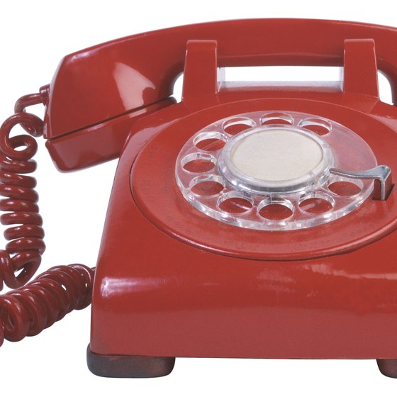 Most phone companies provide analog telephone service.
