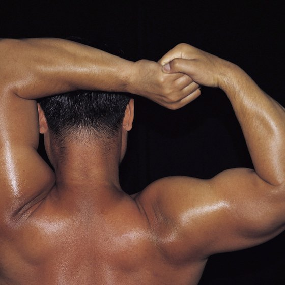 Gaining muscle mass takes time and commitment.