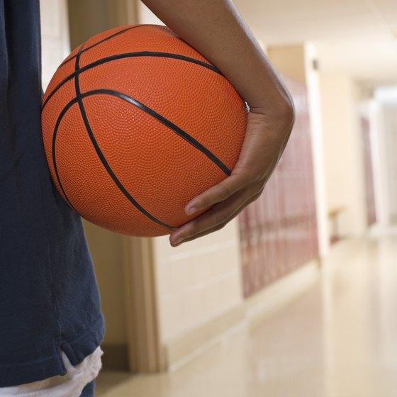 Train for basketball in short, high-intensity spurts.