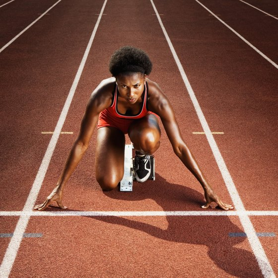 Running faster comes from intense training, not just upping your protein intake.